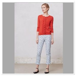 Anthropologie Cartonnier Charlie Cherry Trousers 2